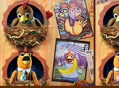 Chica Show Spot the Differences