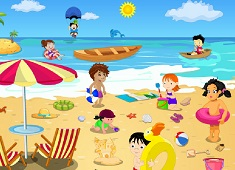 Children Beach Decor