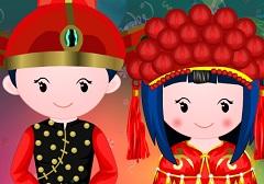 Chinese Doll Wedding