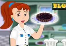 Chocolate Blueberry Pie