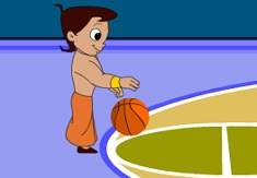 Chota Bheem Basketball