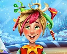 Christmas Elf Real Hairstyle