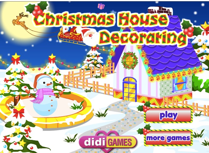 Christmas House Decoration Christmas Games