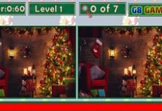 Christmas Room Differences