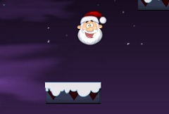 Christmas Santa Jumping
