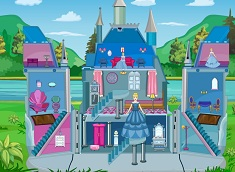 Cinderella Castle Doll House