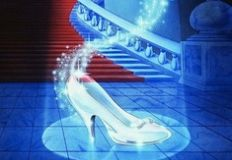 Cinderella Glass Shoe Puzzle