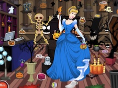 Cinderella Halloween Shop Cleaning