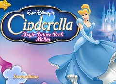 Cinderella Magic Book