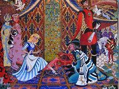 Cinderella Painting Puzzle