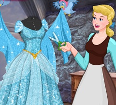 Cinderella Princess Dress Design