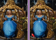 Cinderella Spot 6 Differences
