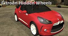 Citroen Hidden Wheels