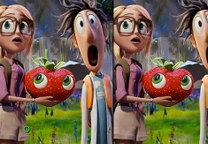 Cloudy with a Chance of Meatballs Differences