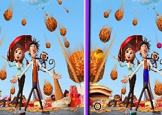 Cloudy with a Chance of Meatballs Spot the Differences