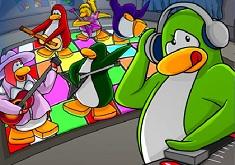 Club Penguin Disco Puzzle
