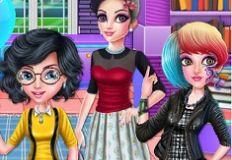 College Girl Squad Fashion Dress Up