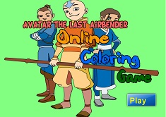 Color Avatar the Last Airbender