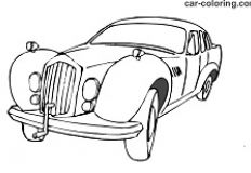 Coloring Book Old Car - Cars Games