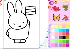 Coloring Miffy