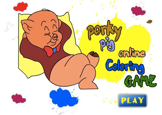 Colour With Porky