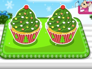 Cook Christmas Tree Cupcakes