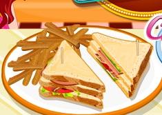 Cook Turkey Club Sandwiches