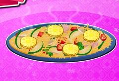 Cooking Chicken Avocado Pizza