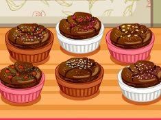 Cooking Frenzy Chocolate Souffle