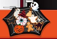 Cooking Frenzy Halloween Cookies