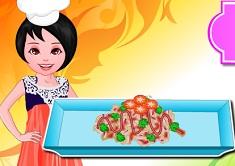 Cooking Indian Cauliflower