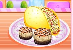 Cooking Mini Tortilla Taco