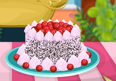 Cooking Trends Black Forest Cake