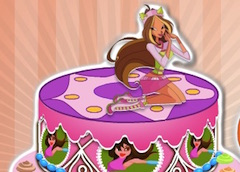 Wondrous Cooking Winx Club Birthday Cake Winx Games Funny Birthday Cards Online Hendilapandamsfinfo