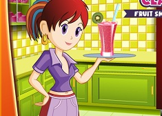 Cooking with Sara Fruit Smoothie