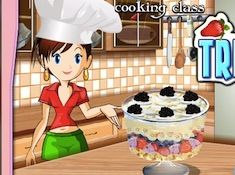 Cooking with Sara Trifle