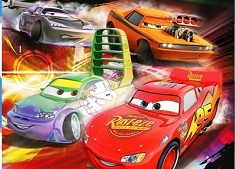 Cool Cars Disney Puzzle