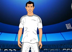 Cool Footballer Fun Dress Up