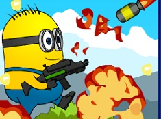 Crash Minions Rocket Zombies