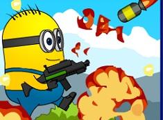 Crash Minions Rocket Zombies