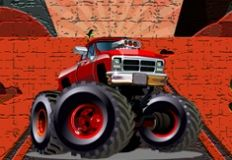 Crazy Monster Trucks Jigsaw