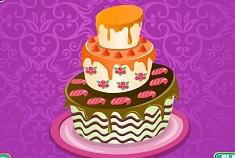 Creamy Wedding Cake