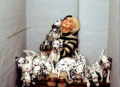 Cruella and the Dalmatians Puzzle
