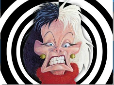 Cruella de Vil Cartoon Puzzle