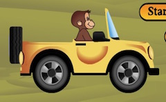 Curious George Car Driving…