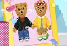 Cute Bears Love Story