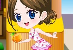 Cute Fruit Vendor Dress Up