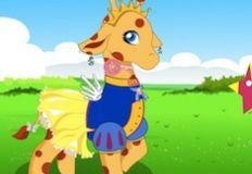 Cute Giraffe Dress Up