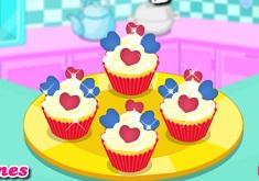 Cute Heart Cupcakes