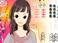 Cute Make Up Girl